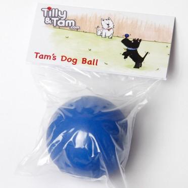 Tam's Blue Dog Ball