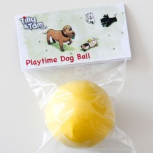 Playtime Dog Ball (Yellow)